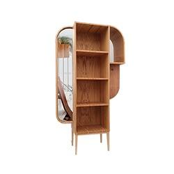 Brazilian design bookcase Dumbo