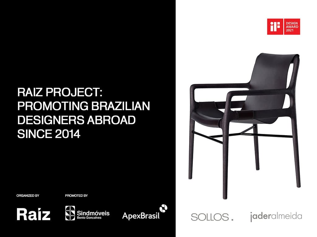 Raiz Project: Promoting Brazilian Designers Abroad Since 2014