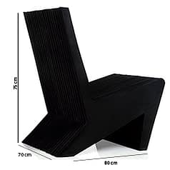 brazilian design pazetto armchair black brazilian design