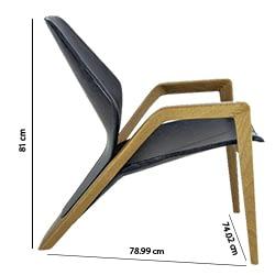 brazilian design ava armchair desginer guto indio da costa technical specification