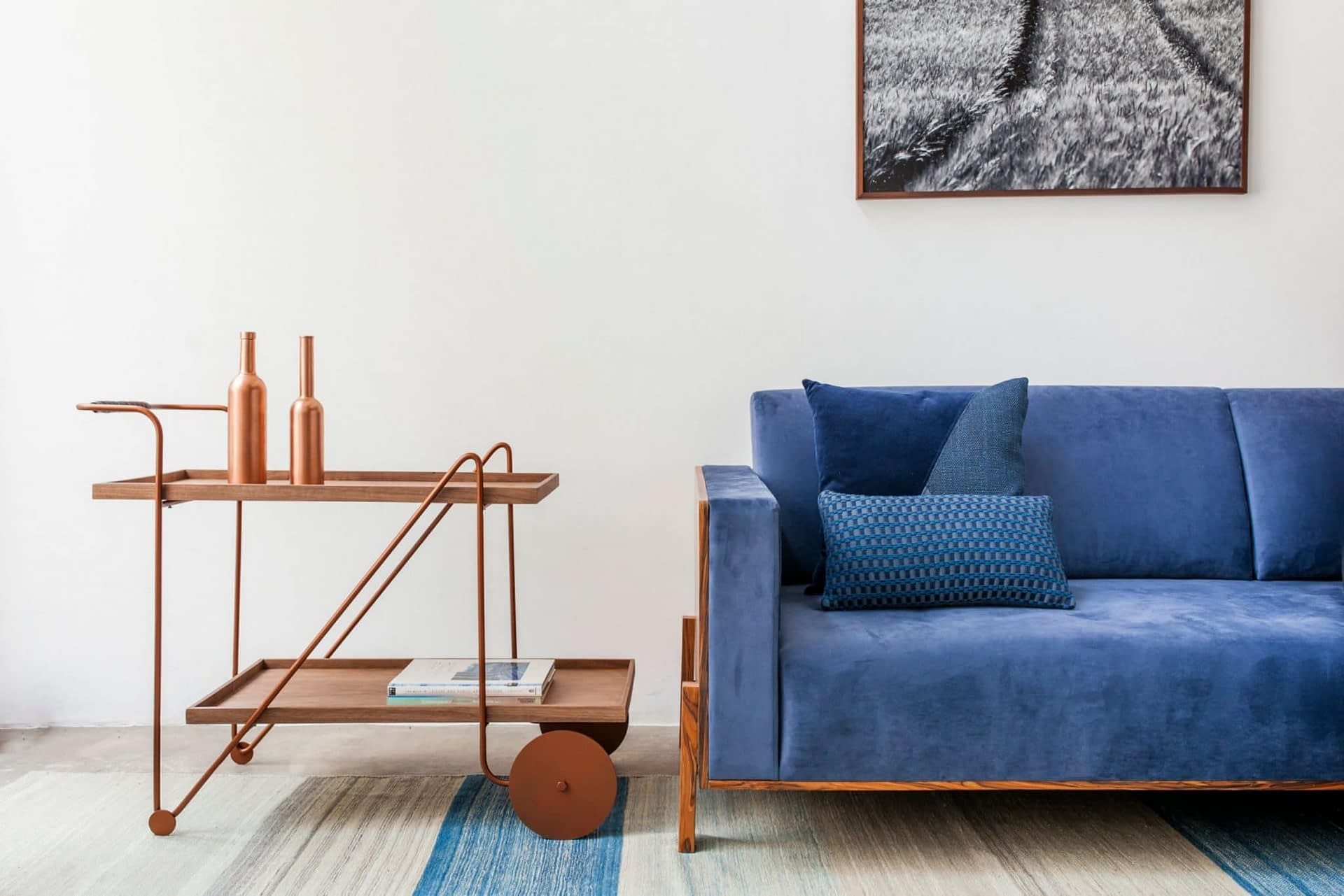 design Jorge Bar Cart designer Alessandra Delgado Design