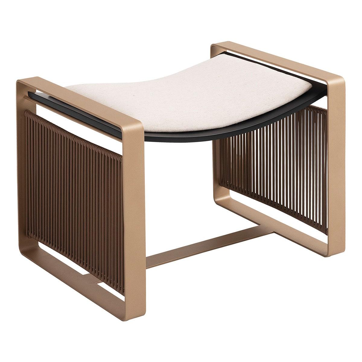 Brazilian Design Puff Barra Ottoman Designer Furniture Studio Marta Manente