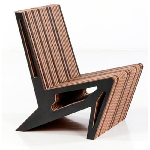 pazetto armchair brown brazilian design