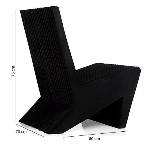 pazetto armchair black brazilian design technical specification