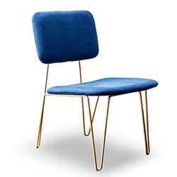brazilian chair blue