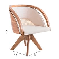 brazilian design flor chair designer marta manente technical specification