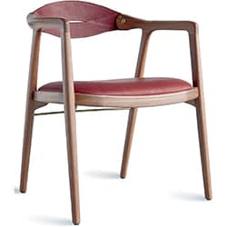 brazilian wood chair brown